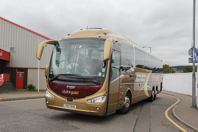 Edinburgh Coach Lines YR17RHE Railway Terrace Inverness Sep 18