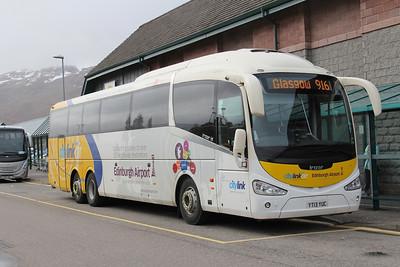 Glasgow Citybus YT13YUC An Aird Fort William Feb 15