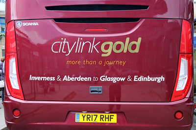 Edinburgh Coach Lines YR17RHF IBS 5 Jun 17