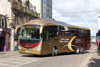 Edinburgh Coachlines YR17RHA Academy Street Inverness May 19