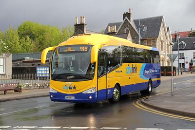 Glasgow Citybus YN15EKE Somerled Square 1 May 15