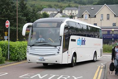 Glasgow Citybus FJ56OCB An Aird Fort William 2 Jul 14
