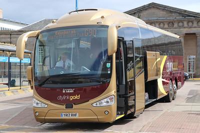 Edinburgh Coach Lines YR17RHF IBS 2 Jun 17