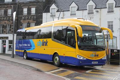 Glasgow Citybus YN15EKE Somerled Square Bus Station May 15