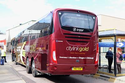 Edinburgh Coach Lines YR17RHF IBS 3 Jun 17