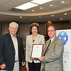 Susan Combs, State Comptroller of Public Accounts presents Mayor Darrell Stephens and City Manager Mike Cypert the Golden Leadership Circle Award.  Abernathy was one of only 41 cities across the State of Texas to receive this award. The award consist of, opening their books to the public, providing clear, consistent pictures of spending and sharing information in a user-friendly format that lets taxpayers easily drill down for more information.