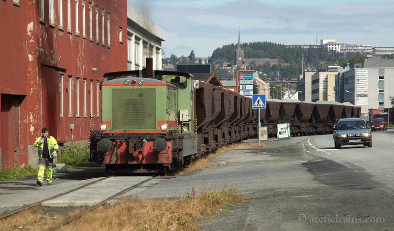 LKAB Motala Uad Narvik Ore Harbour Olivin 2005-07-26 by TS