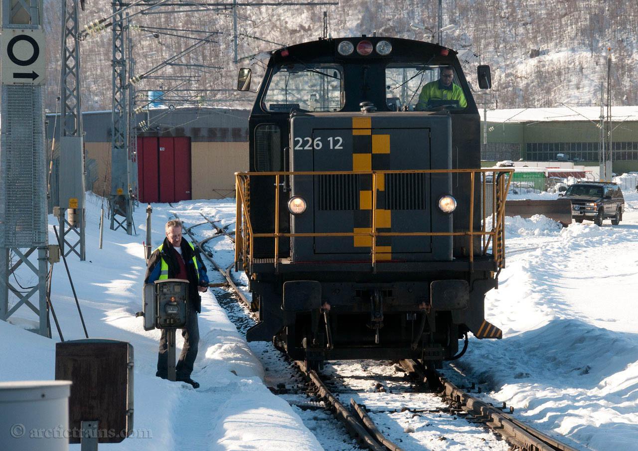 CargoNet Skd 226 12 Fagernes 2010-03-25