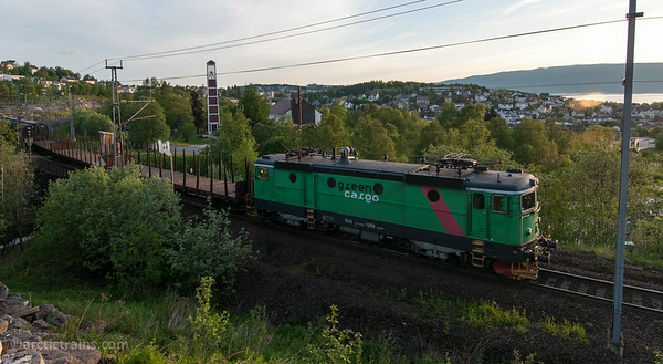 Green Cargo Rc4 1269 freight service Narvik C 2014-06-05 by Terje Storjord