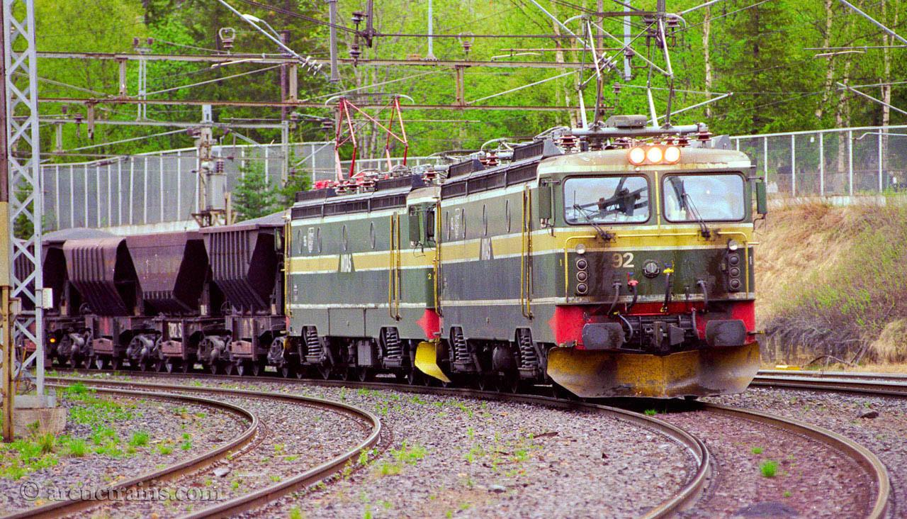 LKAB Uadp El 15 2195 2192 Narvik C 1999-07-13 by TS