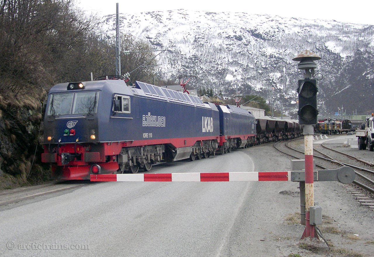 MTAB Iore 109-110 Narvik H Fagernes first olivin trip 2004-08-29 by TS