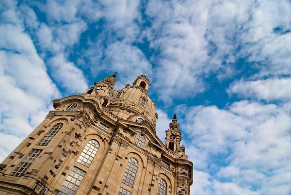 Frauenkirche, Dresden, Saxony, Germany, Europe