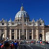 St Peter's Square,St Peter's Basilica, Rome, Italy