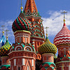 Red Square, St Basil's Cathedral, Moscow, Russia