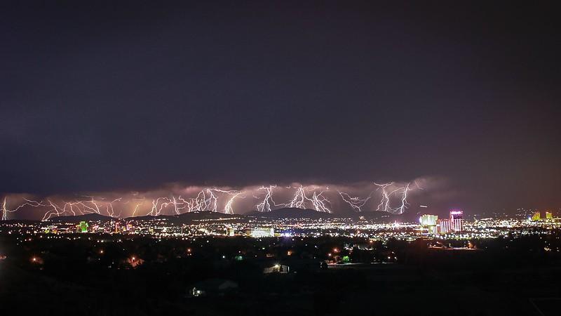 Reno Lightning Storm