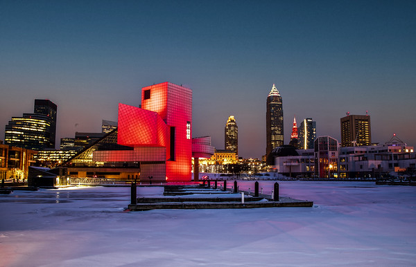 Downtown Cleveland Panoramic