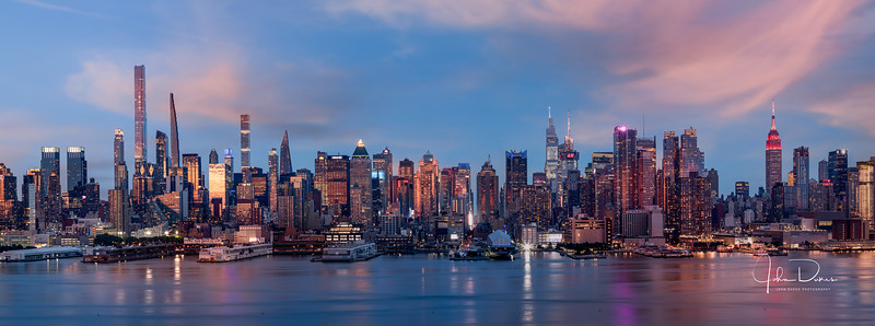 Midtown Manhattan and the Hudson River