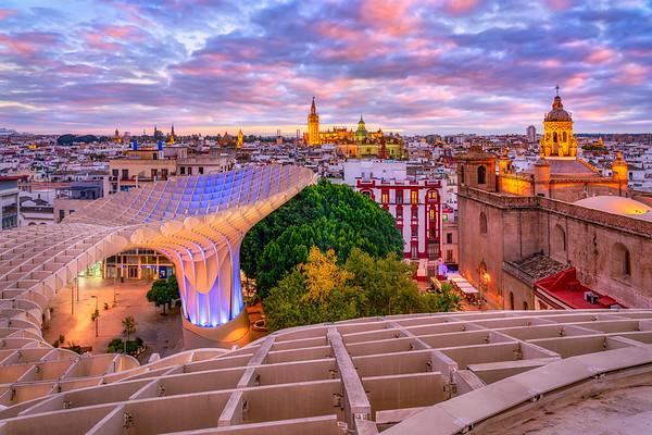 Setas de Sevilla Sunset