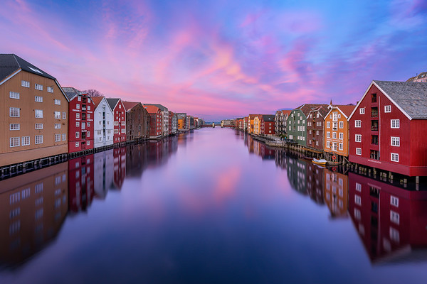 Trondheim Sunset