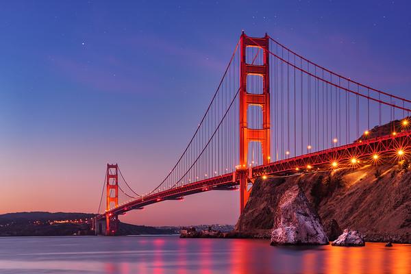 SF Golden Gate Bridge Marina