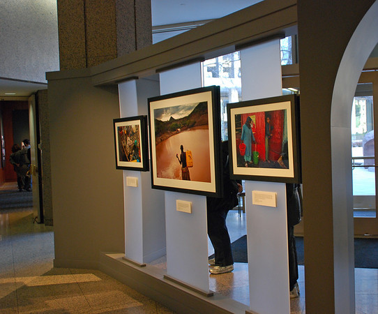 Photo exhibit at the National Geographic