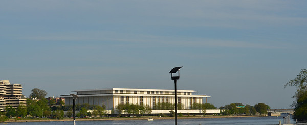 The Kennedy Center and the Watergate (left)