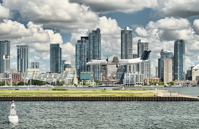 Billy Bishop Airport in Toronto.