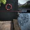 Thorns.<br /> Det gamle hegn ind til B&W skibværft, Overgaden Neden Vandet, Christianshavn, Danmark.<br /> An old fence at the now abandonded Burmeister & Wain ship yard.<br /> Fotograferet med en Lensbaby.