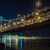 Bay Bridge Holiday Season