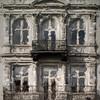 Two Balconies.<br />  Balkoner i Nørre Farimagsgade, København, Danmark<br /> Digitalt manipuleret med wet impasto i Corel Paint.