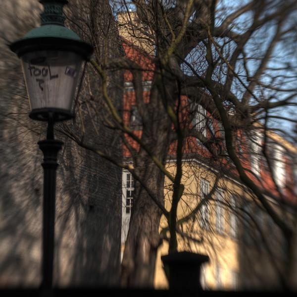 Lamp Post.<br /> Skt. Pedersstræde, København, Danmark.