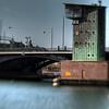 Langebro<br /> København, Danmark.<br /> Control tower for a bascule bridge, Copenhagen.<br /> Fotograferet med en Lensbaby.