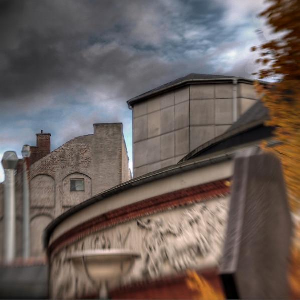 Classic Industrial Nature.<br /> Bag Cirkusbygningen i København.<br /> Part of the permanent Circus in Copenhagen.