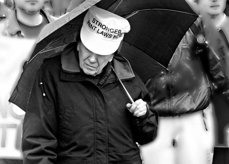 TENANTS' RENT PROTEST, UNION SQUARE