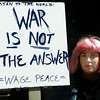 ANTI-WAR RALLY, MARCH 2003