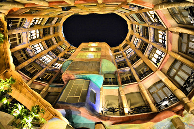 Casa Mila in Barcelona.