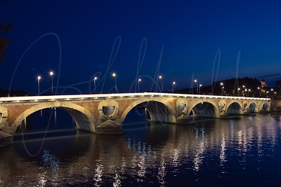 Blue Hour of Pont Neuf