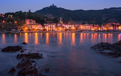 Collioure at Blue Hour