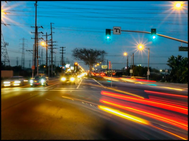 Lakewood Blvd at Sunset