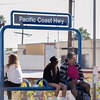 Long Beach Blvd - Waiting for the Train