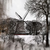 Last Standing Mill.<br /> The last remaining wind mill at Kastellet, Copenhagen.