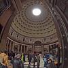 Pantheon entrance.
