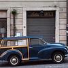 Antico.<br /> Morris - en sjælden bil i Italien.<br /> Morris - a rare car in Italy.