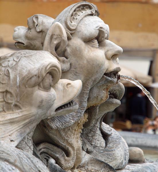 Roman Profile 1.<br /> Fountain at Piazza Navona.