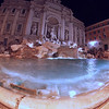 Icy Trevi.<br /> Fontana di Trevi at night.