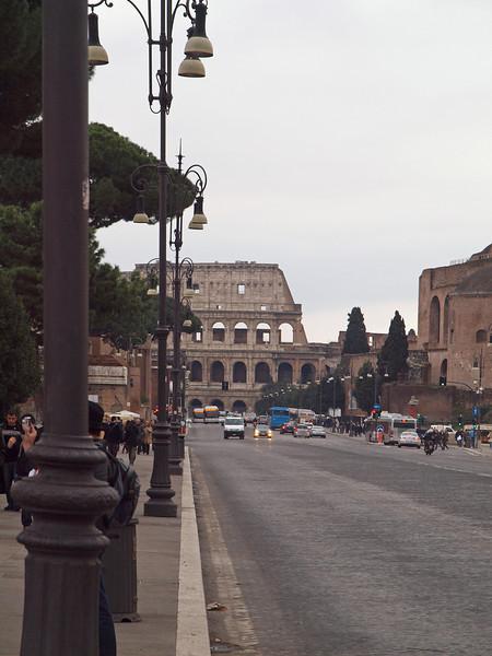 To Colosseum.