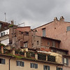 Mountain Village.<br /> Roof housing at Campo di fiori.