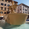 Floating Tub.<br /> Fountain at Piazza Farnese.
