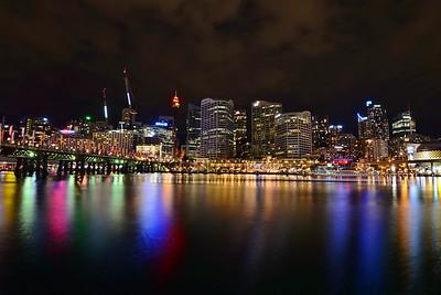 Darling Harbour in Sydney.
