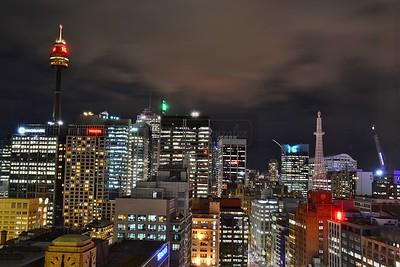 Sydney CBD view.